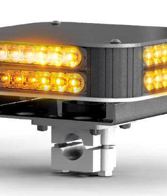 Alarma de luz tricolor con soporte para vehículos