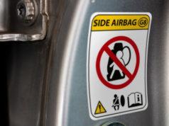 Etiquetas de seguridad para automoción