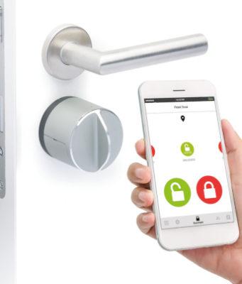 Cerradura electrónica compatible con HomeKit