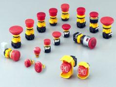 Interruptores para parada de emergencias