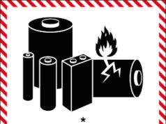 Etiquetas para señalizar baterías de litio