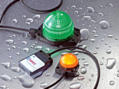 Indicadores LED de seguridad para montaje en superficie