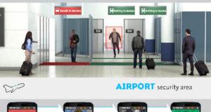 Monitorización para áreas seguras en aeropuertos