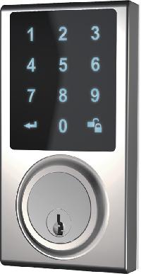 Cerradura inteligente con pantalla táctil