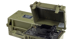 Cargador militar portable