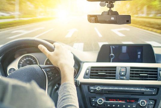 Grabador con dos cámaras para flotas de vehículos
