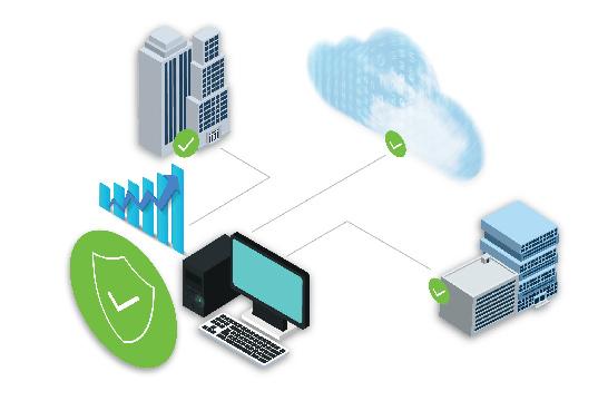 Seguridad híbrida basada en DNS