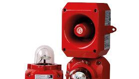 Baliza de alarma de incendios con matriz de LEDs