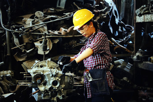 Importancia de contar con la indumentaria de seguridad adecuada en el trabajo