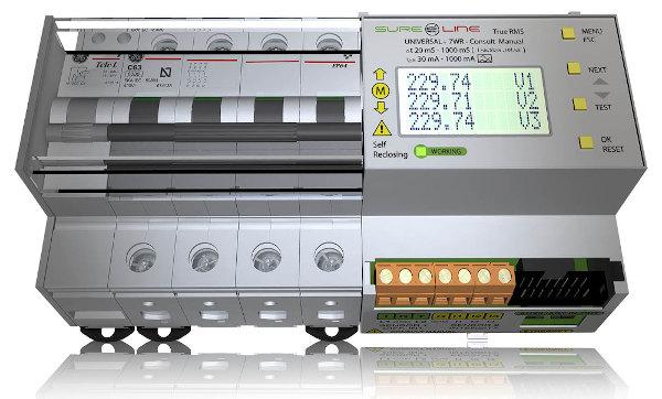 Unidad de protección eléctrica universal
