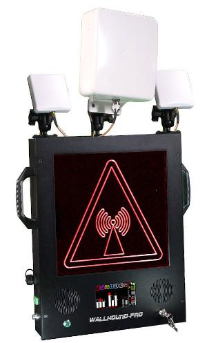 Sistema de alerta de emisiones inalámbricas