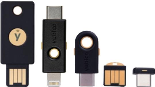 Llave USB de autenticación segura