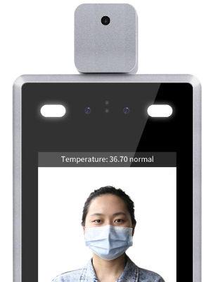 Cámara IP con medición de temperatura
