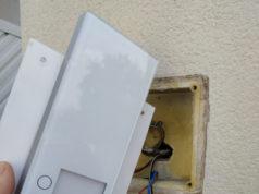 Telefonillo exterior de seguridad