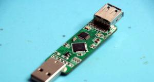 Keylogger USB para registrar el teclado