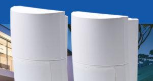 detectores PIR de amplio ángulo