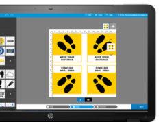 Recursos gráficos gratuitos de gran formato para señales COVID-19