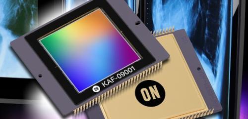 El CCD de 9,1 MP KAF-09001 de ON Semiconductor.