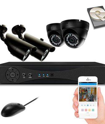 El avance tecnológico en los kits de cámaras de vigilancia
