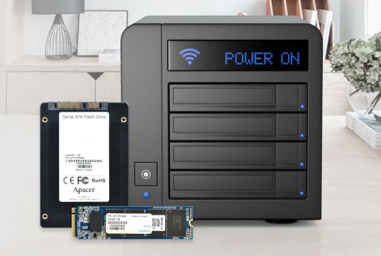 SSD NAS con durabilidad y alto rendimiento