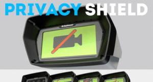 """Cámaras con """"cortina de privacidad"""" mediante control remoto"""