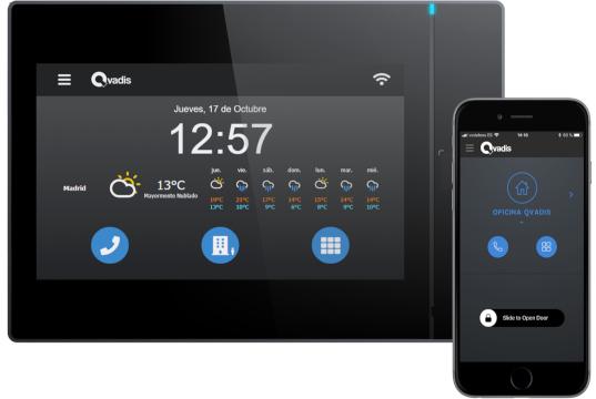 Telefonillo electrónico tipo tablet