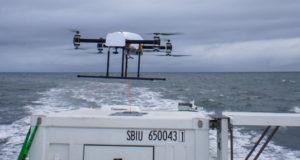 Drones cautivos para vigilancia marítima