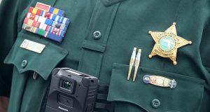 Cámara corporal para agentes policiales