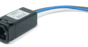 Filtros EMC de entrada IEC compatible con 2 MOPP para sanidad