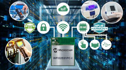 MCU Trust&GO de 32 bit Wi-Fi con periféricos avanzados