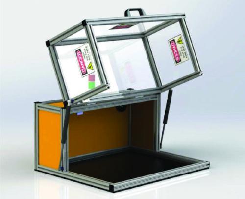 Armarios de seguridad para pruebas de alta tensión