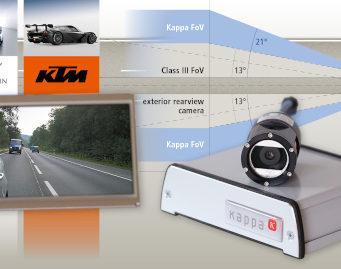 Sistema de cámara-retrovisor para seguridad en vehículos