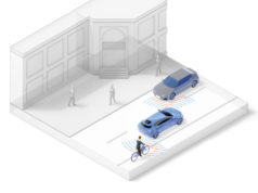 Sensores de radar con una zona de seguridad de 360 grados