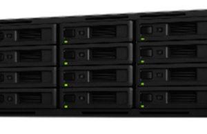 NAS RackStation de 12 y 16 bahías para almacenamiento de seguridad