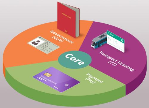 Controlador criptográfico SLC36/SLC37 para dispositivos vestibles