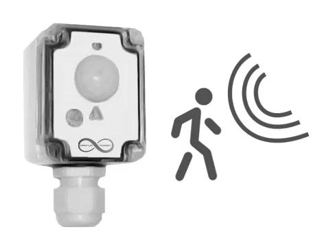 sensor dual de presencia y luminancia