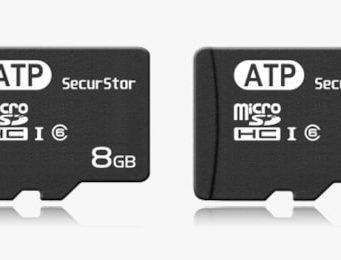Tarjetas microSD SecuStor de 4, 8 y 16 GB