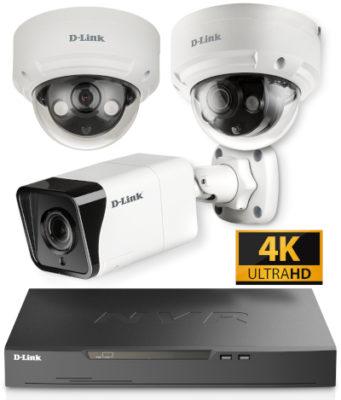 Vigilance: nuevas cámaras y NVR con soporte 4K UHD y H.265 HEVC