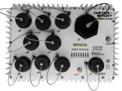 DBH-670A A-PNT Ordenador/switch para vehículos militares terrestres