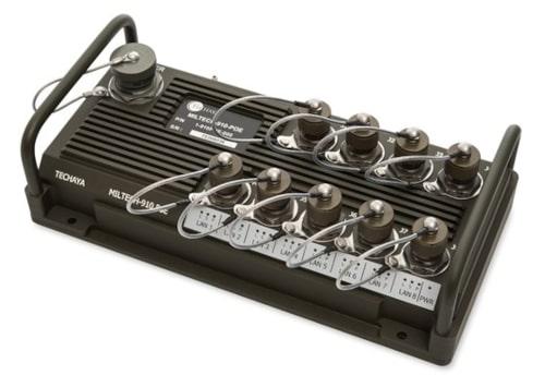 MILTECH 910 PoE Switch PoE Gigabit gestionado para UGV