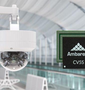 SoCs para visión artificial CV5S y CV52S