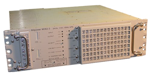 SAI militar M362 para instalación en rack estándar