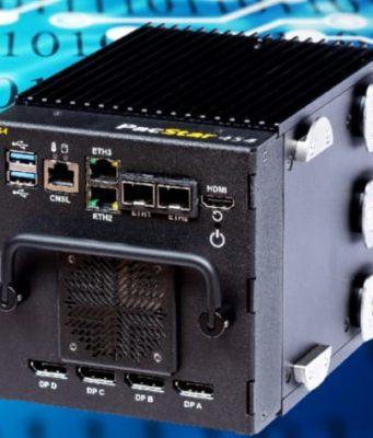 PacStar 454 Módulo de comunicaciones para despliegues tácticas, IA y ML